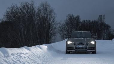 Audi A6 allroad mit Matrix LED in Norwegen | #HuntingTheLight