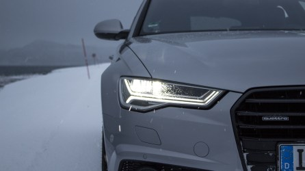 Audi A6 allroad mit Matrix LED in Norwegen | #HuntingTheLight