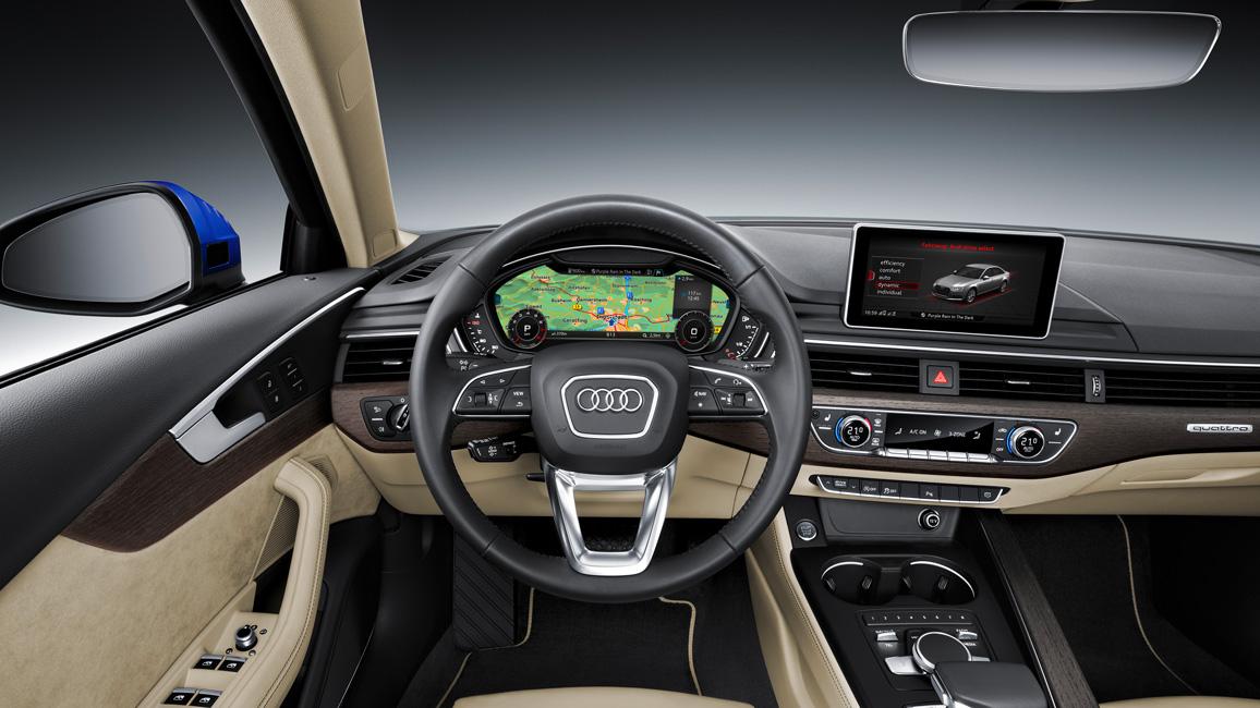 Vorstellung: neuer 2016 Audi A4 (B9) als Limousine, Avant und S-Line ...