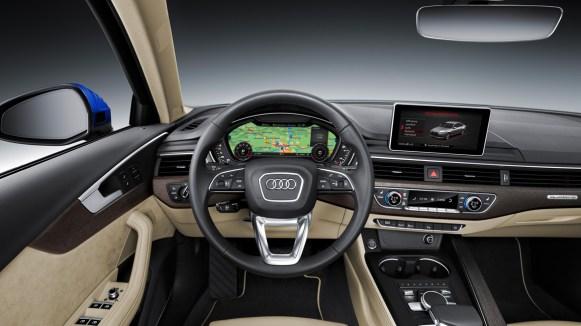 Neuer 2016 Audi A4 B9 Limousine Cockpit/Interieur