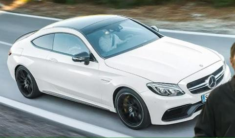 Geleakte Fotos: Mercedes AMG C63 S Coupé (C205, MJ 2016)