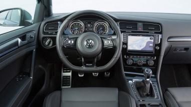 VW Golf R VII Innenraum