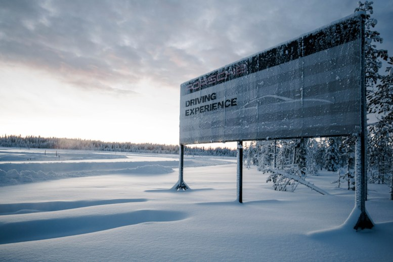 "Porsche Driving Experience ""Ice Force"" in Levi, Finnland"