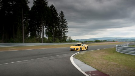 Audi R8 V10 plus Vegasgelb - Bilster Berg Blogger Day 2016