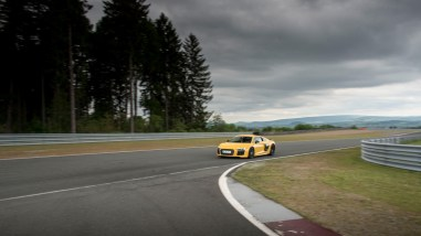 Audi R8 V10 plus Vegasgelb - Bilster Berg Blogger Day 2016