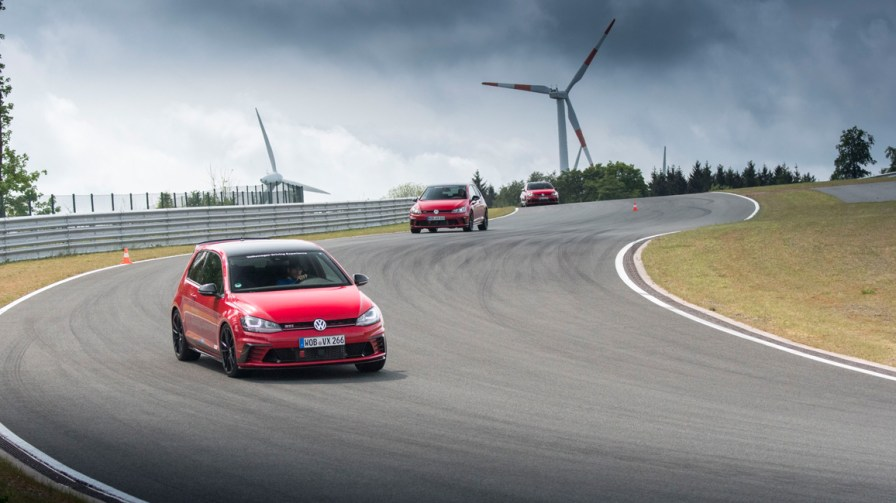 VW Driving Experience, VW Golf GTI Clubsport - Bilster Berg Blogger Day 2016