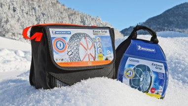 Michelin Extrem Grip und Michelin Easy Grip Schneeketten
