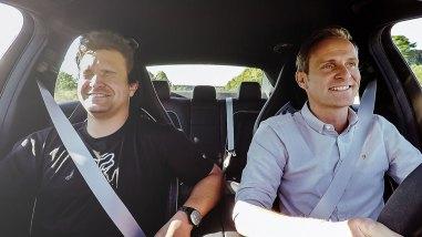 Michelin Drivestyle - Matthias Malmedie im Mercedes-AMG E 63 S auf der Autobahn
