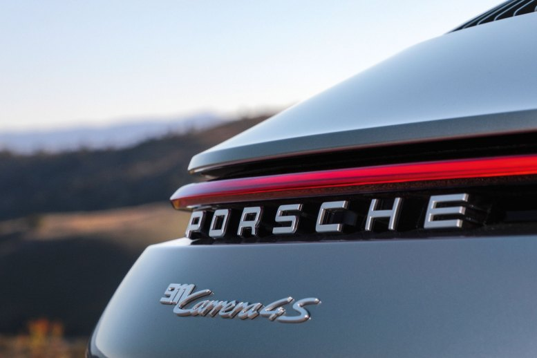 Porsche 911 Carrera 4S 992 Rückleuchte