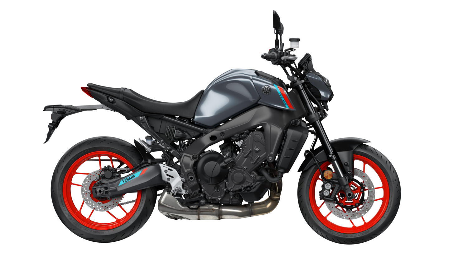 Yamaha MT-09 2021 in Storm Fluo