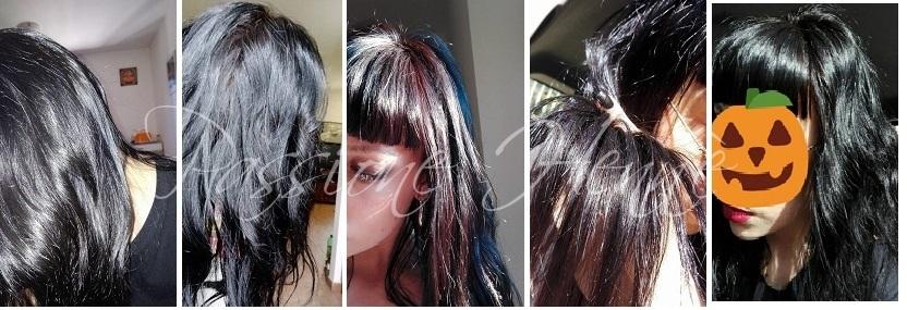 Francesca  fa mix di lawsonia + indigo (dal 10 al 60%) alternati a pure  hennate  prima foto con flash 62ca9ffbc022