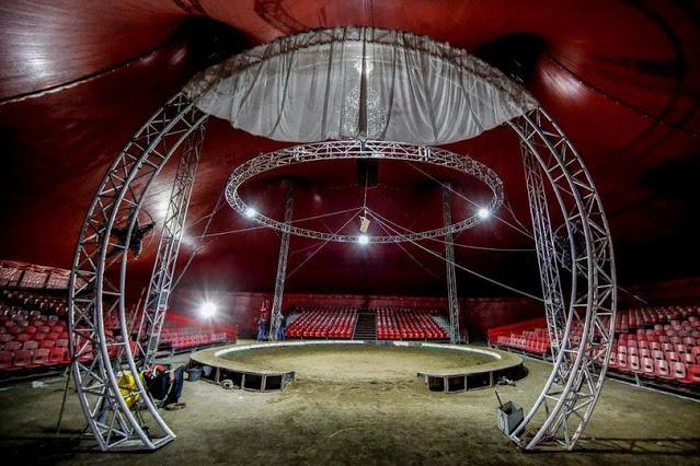 Il Circo Togni fermo a Roma-Capannelle. Il servizio del TGR Lazio