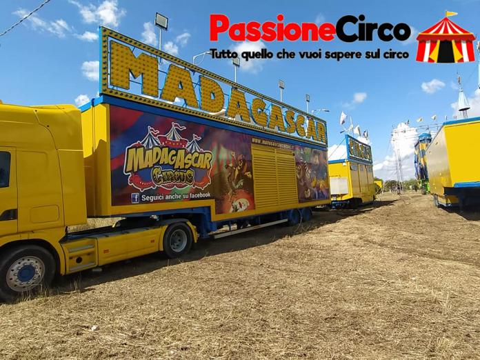 Circo Madagascar a Santa Maria Imbaro. Le foto