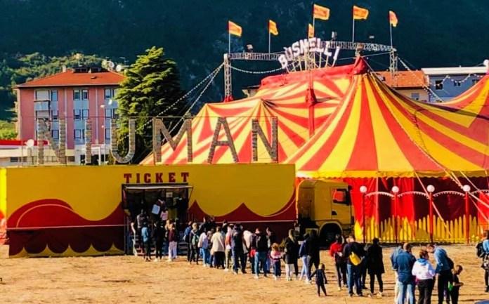 Il Circo Busnelli ha riaperto i battenti. Si punta sugli acrobati