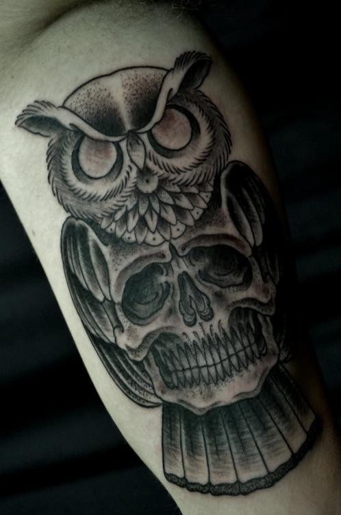 Tatuaggio gufo significato stili e galleria di immagini