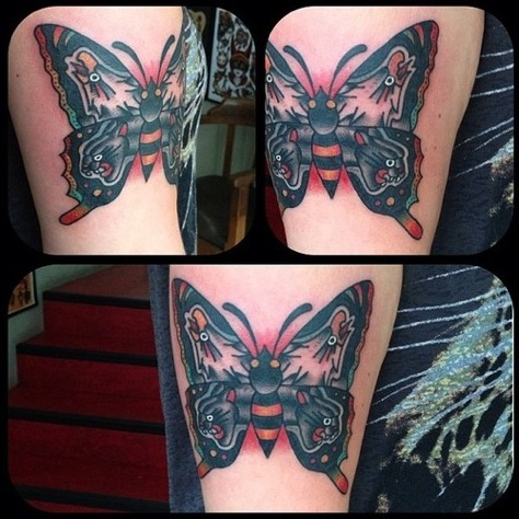 Il significato dei Tatuaggi di Farfalle  PassioneTattoo