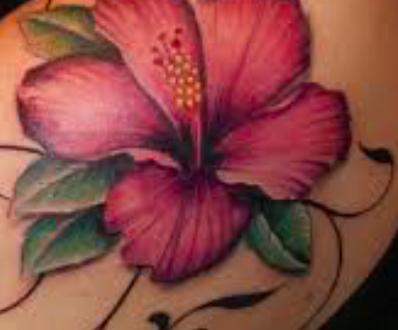 Tatuaggio hibiscus significato simbolo ed immagini  PassioneTattoo