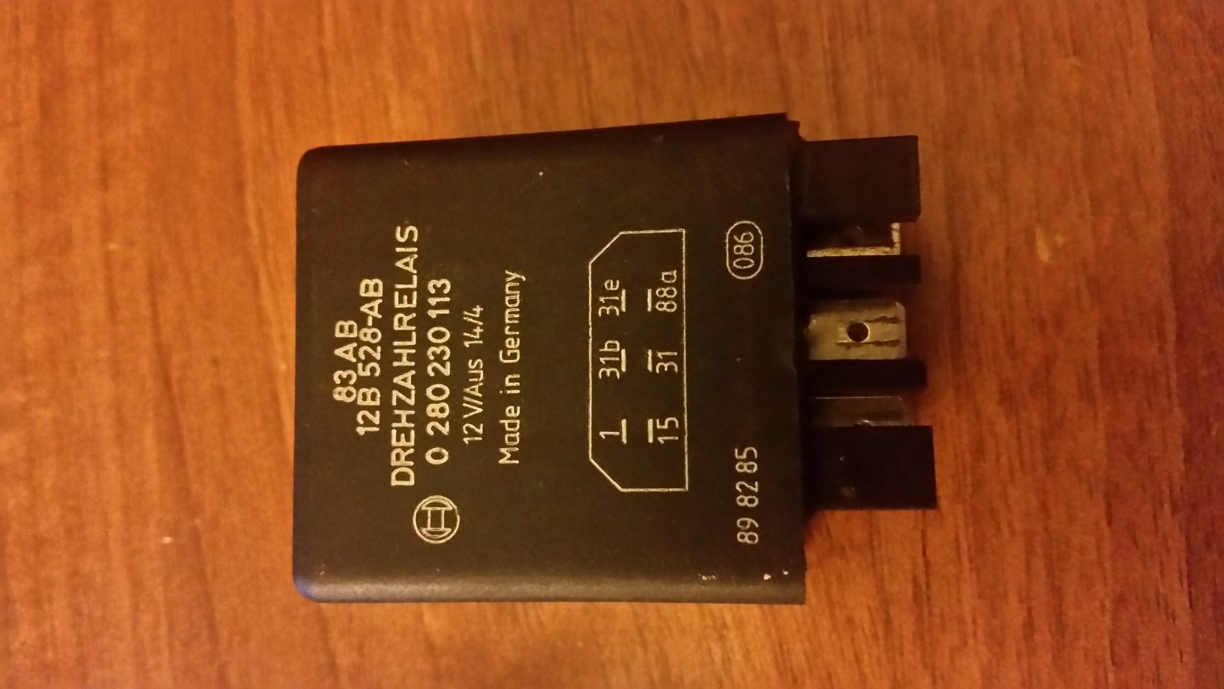 medium resolution of fuel pump relay problems help xr3i cabby 20151115 202042 jpg