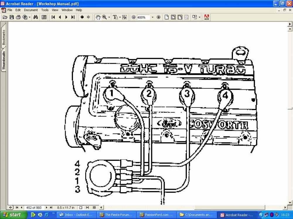medium resolution of 4 9 ford engine firing order diagram