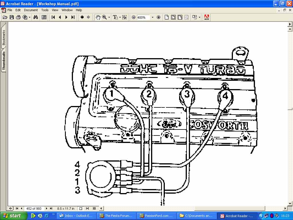 hight resolution of 4 9 ford engine firing order diagram