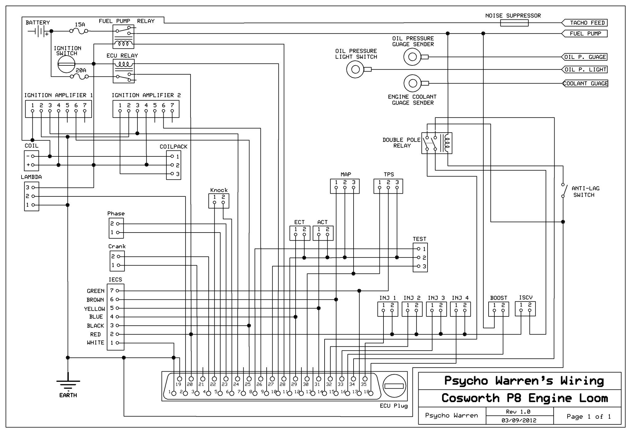 escort rs turbo engine wiring diagram