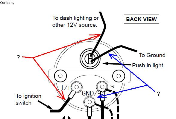 Vdo Oil Pressure Gauge Wiring Diagram : 37 Wiring Diagram