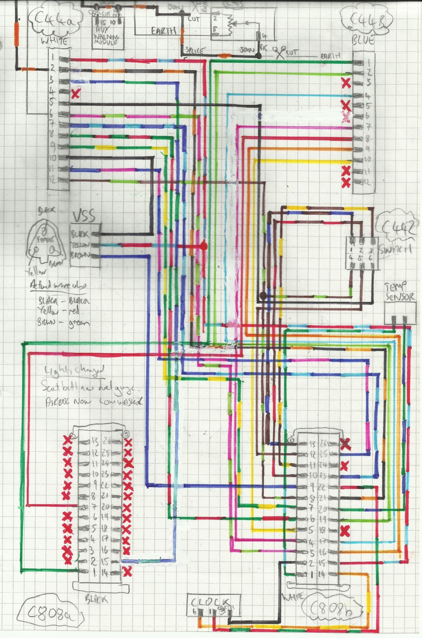 ford puma ecu wiring diagram chinese mini chopper focus st170 clocks and speedo passionford