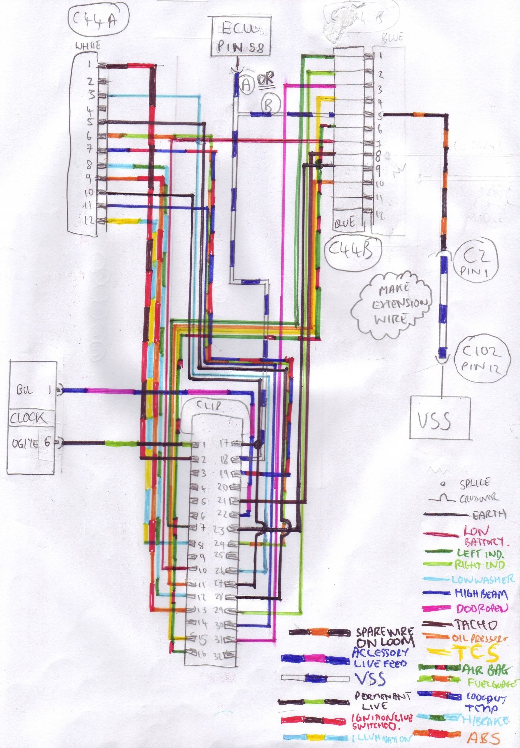 ford escort mk2 wiring diagram uml use case for library management system puma cosworth restoration bodge job fix page 3