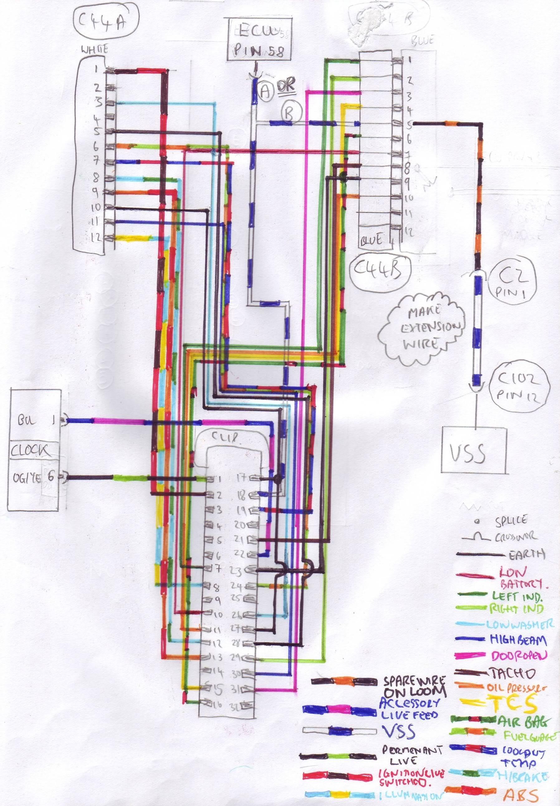 ford mondeo mk2 radio wiring diagram 5 pin din to rca plug puma cosworth restoration bodge job fix page 3