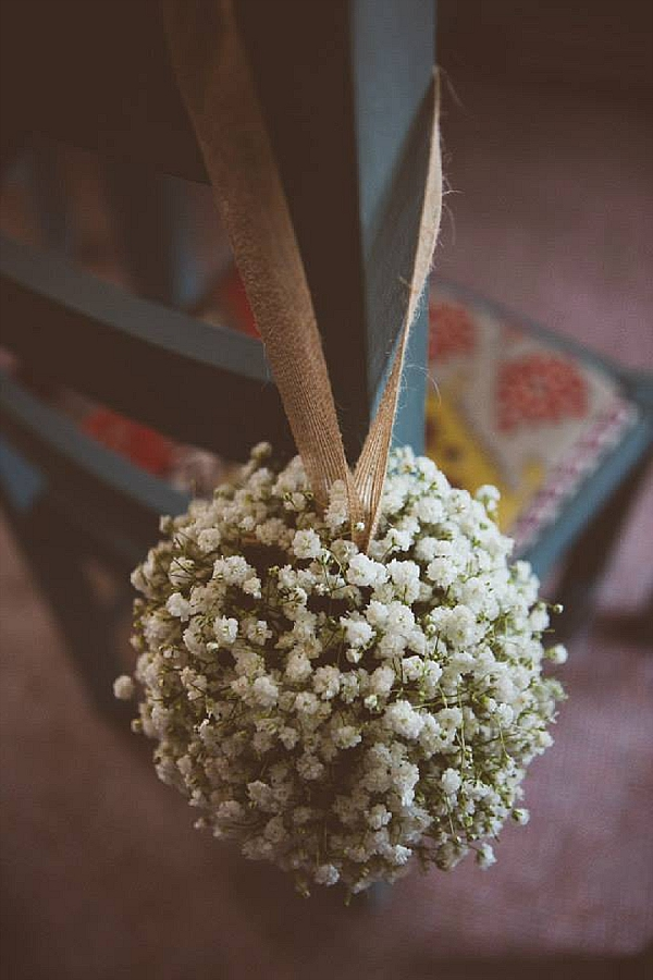 Hanging flower balls in barn  Passion for Flowers