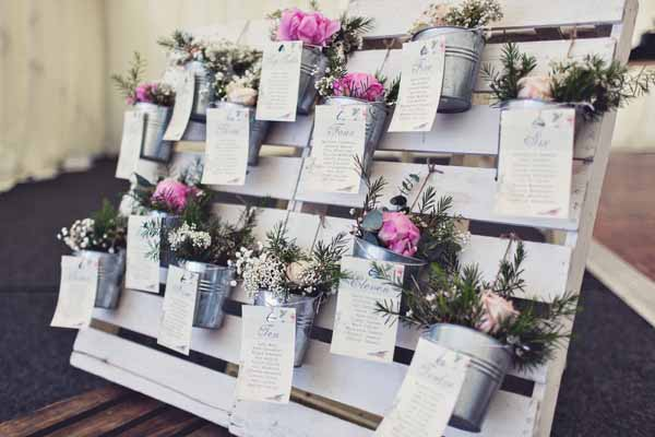 COLOURFUL COUNTRY GARDEN WEDDING FLOWERS  PEONIES
