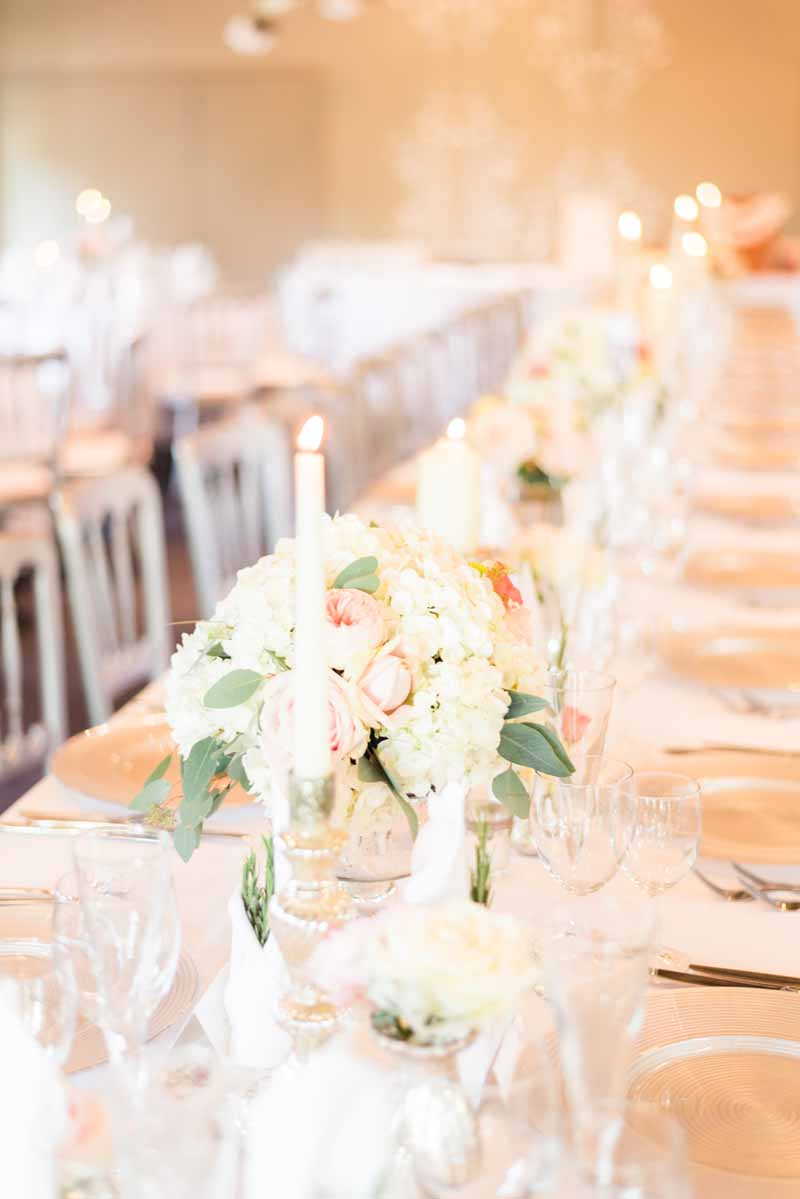 Elegant Wedding Reception Centerpieces