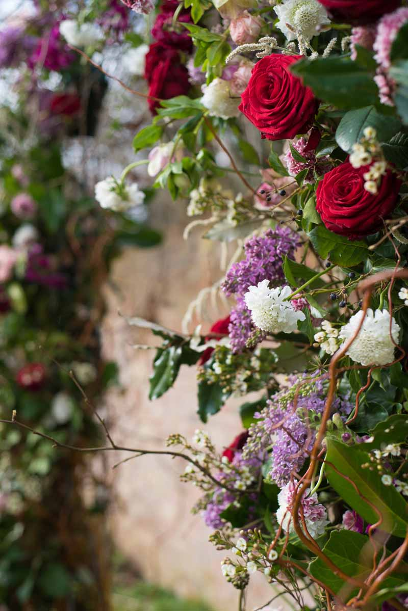 HANGING FLOWERS AND FLOWER CANOPIES FOR CEREMONY TABLES  Passion for Flowers