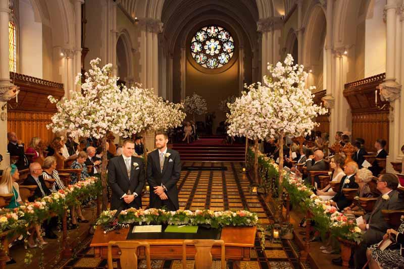 Church Aisle Decorations Wedding
