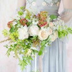 Summer Organic Cascading Bouquet Inspired By Sabine Darrall Passion For Flowers