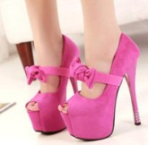 2014-new-ladies-ultra-high-shoes-with-bows-bowtie-pink-stiletto-heel-platform-shoes-pumps-women-sexy-shoes-16cm-epacket-free-shipping_241293
