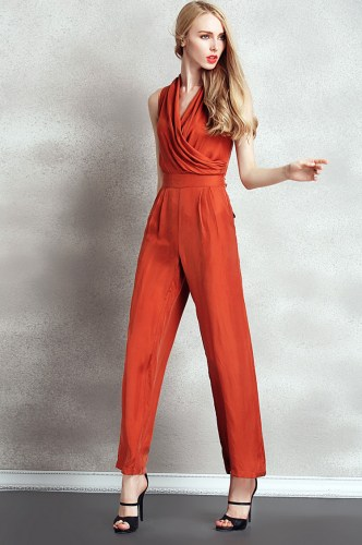 Women-Jumpsuit-Casual-Fashion-Copper-Ammonia-Silk-Fiber-Sleeveless-Long-Pants-Suit-Jumpsuits-and-Rompers-2015