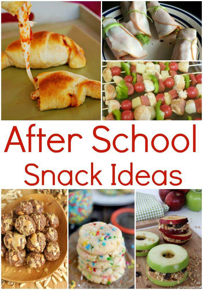 After School Snack Ideas For Kids