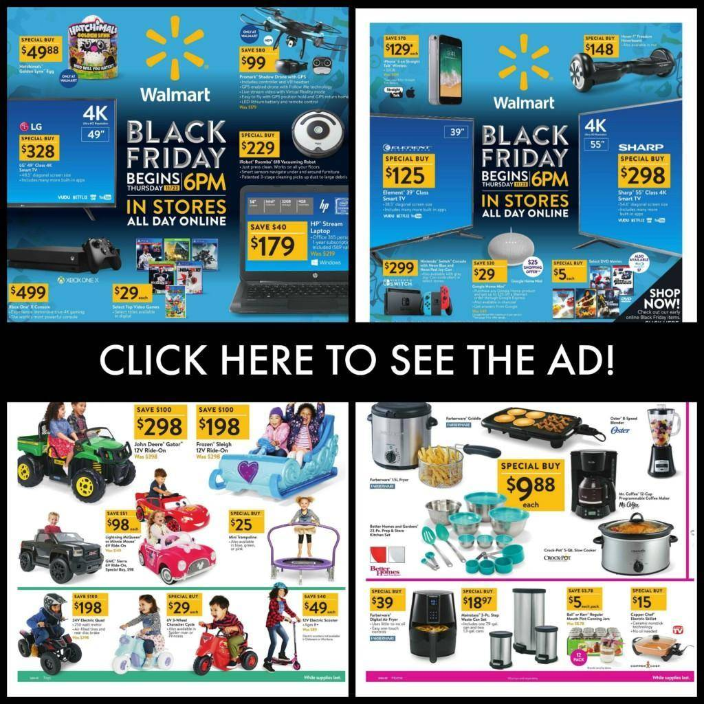 Walmart Black Friday Ad 2018  Best Sales & Deals, Preview
