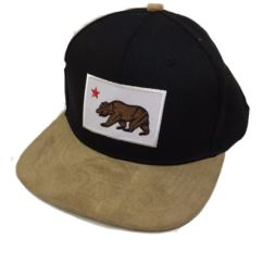 California Bear Black/Brown Hat
