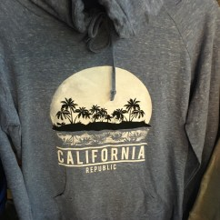 California Republic Moon Shirt Blue