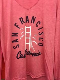 Golden Gate Front Pink Shirt