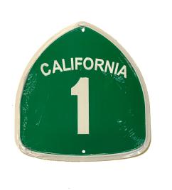 California 1 Plate