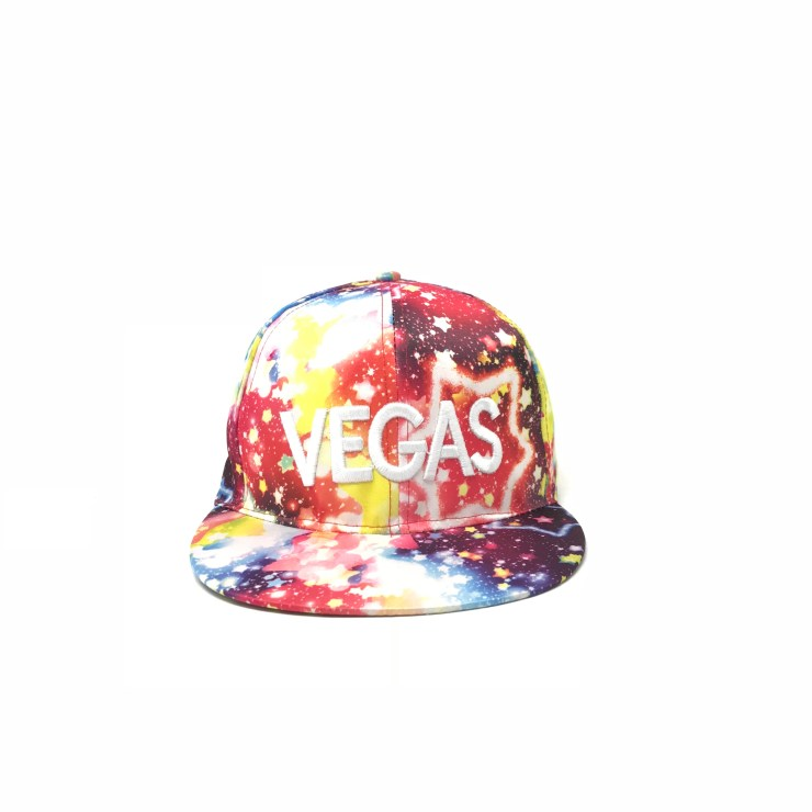 Vegas Cap (Red Galaxy) Image