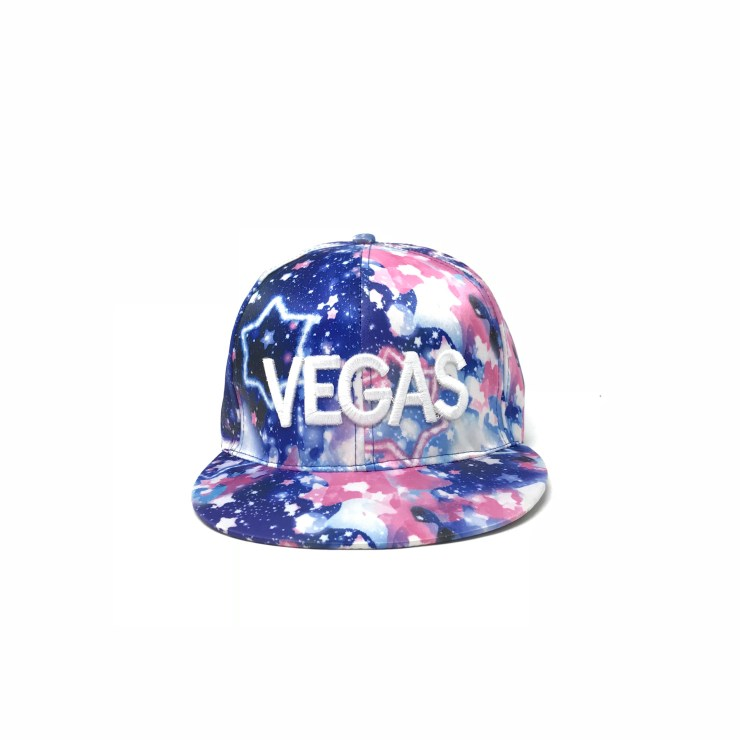 Vegas Cap (Blue Galaxy) Image