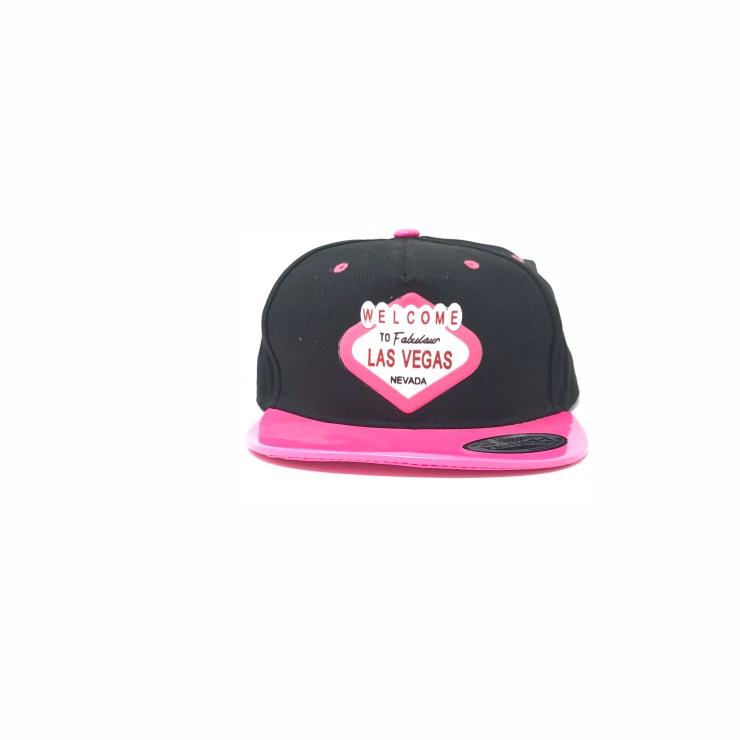 Welcome to Las Vegas Cap (Black/Pink Lid) Image