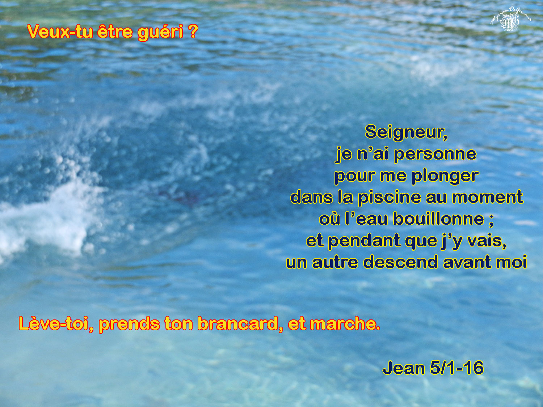 Commentaire de Jean 5,1-16.