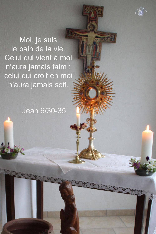 Commentaire de Jean 6,30-35