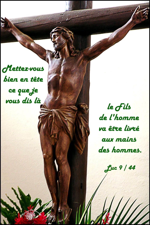 Commentaire de Luc 9,43b-45.