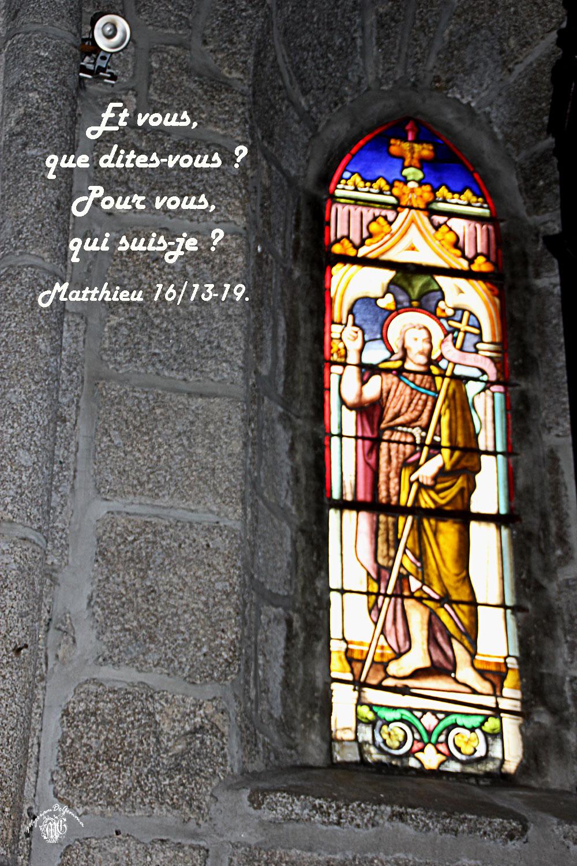 Matthieu 16 13 19